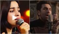 Alia Bhatt sang rumored boyfriend Ranbir Kapoor's hit song 'Ae Dil Hai Mushkil' in the most adorable way; even Karan Johar is impressed