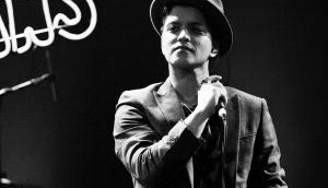 Bruno Mars forced off stage following fire scare