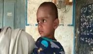 Anganwadi worker puts chilli powder in toddler's mouth