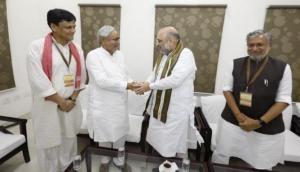 Lok Sabha election 2019: Bihar CM Nitish Kumar strikes seat-sharing deal with BJP for Lok Sabha polls