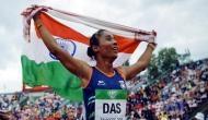 'स्वर्ण बेटी' हिमा दास का एथलेटिक्स फेडरेशन ऑफ इंडिया ने अंग्रेजी न आने पर किया अपमान