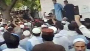 Protests staged against Pak army over Haroon Bilour's death