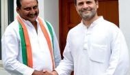 Ex-Andhra CM Kiran Reddy rejoins Congress