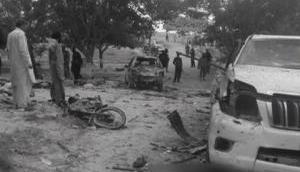 5 dead, over 35 injured in attack on Siraj Raisani's convoy in Mastung blast