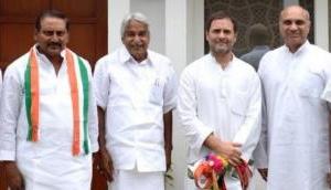 आंध्र प्रदेश: पूर्व CM किरण कुमार रेड्डी फिर से कांग्रेस में शामिल, राहुल ने कराई घर वापसी