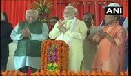 आजमगढ़: PM मोदी ने यूपी की सबसे बड़ी परियोजना 'पूर्वांचल एक्सप्रेस-वे' का किया शिलान्यास