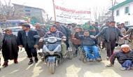 जम्मू-कश्मीर में तीन साल में दिव्यांगों की संख्या 74 फीसदी बढ़कर हुई 31,000 से ज्यादा : रिपोर्ट