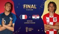 यहां देखें FIFA World Cup 2018 का फाइनल मुकाबला, आज रात होगा Live प्रसारण