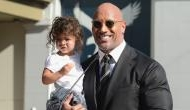 Dwayne 'The Rock' Johnson goes shirtless, daughter asks hilarious question