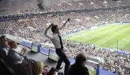 फ्रांस के FIFA वर्ल्ड चैंपियन बनते ही डांस करने लगे राष्ट्रपति मैक्रों, क्रोएशियाई राष्ट्रपति ने लगाया गले