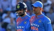 MS Dhoni faces criticism over slow batting; Virat Kohli gives a befitting reply to the haters