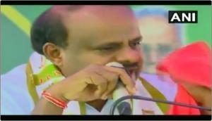 Karnataka CM Kumaraswamy broke down into tears; BJP gave him 'best acting award'