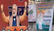 PM मोदी की रैली को लेकर पश्चिम बंगाल में सियासी बवाल, TMC-लेफ्ट ने लगाए पोस्टर