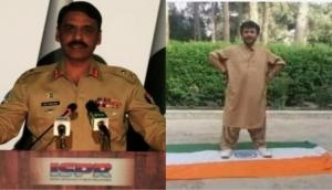 Pakistan Army spokesperson shares picture of Baloch leader Siraj Raisani standing on 'Indian flag;' calls him national hero