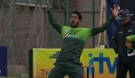 भारत से चैंपियंस ट्रॉफी छीनने वाले इस पाक गेंदबाज ने मनाया विकेट लेने का जश्न तो अकड़ गई गर्दन