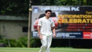 Video: Vinod Kambli cried 'tears of joy' when Sachin Tendulkar's son Arjun claimed his maiden wicket