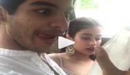 फिल्म 'धड़क' के रिलीज होने से पहले ही जाह्नवी को Ignore करने लगे ईशान, देखें वीडियो