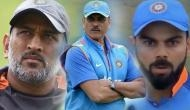 Video: Ravi Shastri reveals the reason why MS Dhoni took the ball from umpire