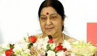 External Affairs Minister Sushma Swaraj holds bilateral talks with Cambodian counterpart