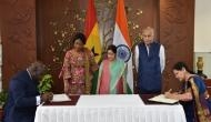 India, Ghana ink 2 MoUs