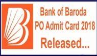 BOB Admit Card 2018: एडमिट कार्ड जारी, ऐसे करें डाउनलोड, परीक्षा पैटर्न में हुए बदलाव