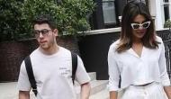 Viral: Priyanka Chopra and Nick Jonas twinning in white in London