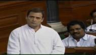 अविश्वास प्रस्ताव: राहुल ने पीएम मोदी को 'जुमला पॉलिटिक्स' करने वाला बताया