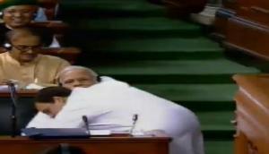 राहुल धमाकेदार भाषण के बाद पीएम मोदी से मिले गले, बोले- आपसे नफरत नहीं प्यार करता हूं
