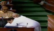 'Bhagidar not chowkidar': Rahul attacks and then hugs Modi during No Confidence Motion