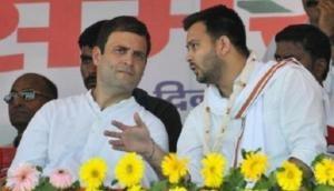 राहुल के आंख मारने पर बोले तेजस्वी यादव, जहां दुखे वहीं करो 'हिट'
