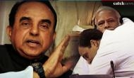 Rahul hugs Modi: Subramanian Swamy advices PM Modi to go for a medical checkup after Rahul Gandhi's 'Jadu ki Jhapi'