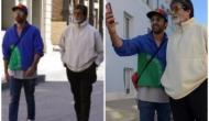 'Brahmastra': Big B takes a stroll in NYC with Ranbir
