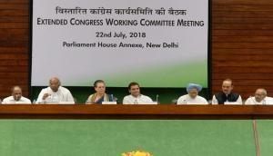 Sonia Gandhi attacks BJP government at Congress Working Committee meet, says 'reverse countdown of Modi govt has begun'