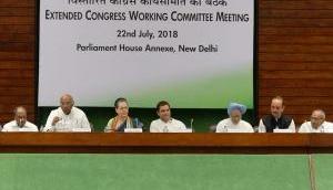CWC मीटिंग में मनमोहन के निशाने पर मोदी, बोले- जुमले गढ़ने से दोगुनी नहीं होगी किसानों की आय