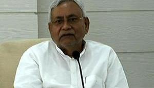 Nitish Kumar files nomination for JDU national president's post