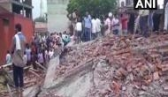 Ghaziabad: 4 injured in building collapse