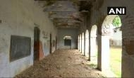 Poor building condition forces students of classes 1-8 share one room
