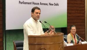 CWC: राहुल ने कांग्रेस को बताया 'भारत की आवाज', कहा- BJP करती है दलितों का दमन