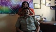 Shocking! Delhi police SHO faces transfer after his photo of'healing session' with godwoman in uniform go viral; see pic
