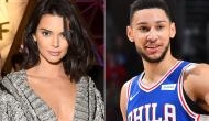 Kendall Jenner cosying up with boyfriend Ben Simmons at his birthday dinner