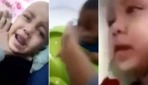Video: Saudi Arabian mother who brutally beat her six-month-old twins on camera for money is arrested