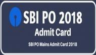 SBI PO Main 2018 admit card: मेन एग्जाम का एडमिट कार्ड जारी, Sbi.co.in पर ऐसे करें डाउनलोड
