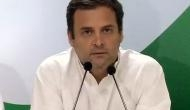 Will support whoever defeats BJP, RSS: Congress chief Rahul Gandhi