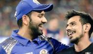 रोहित शर्मा ने चहल को फनी अंदाज में किया बर्थडे विश, कहा- तुम्हें तुम्हारा खोया दांत वापस मिले