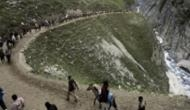 Heavy rainfall suspends Amarnath yatra from Baltal route