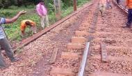 Chhattisgarh: Amid President Kovind's visit, Naxals uproot train tracks
