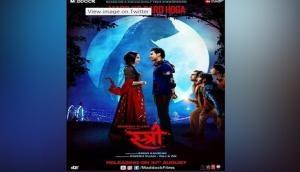 First look poster of Stree starring Rajkummar Rao and Shraddha Kapoor released, says - 'Ab Mard Ko Dard Hoga'