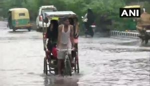 Heavy rains continues to lash Delhi-NCR: Schools remain shut, traffic jams throw life out of gear; IMD issues 24 hours alert
