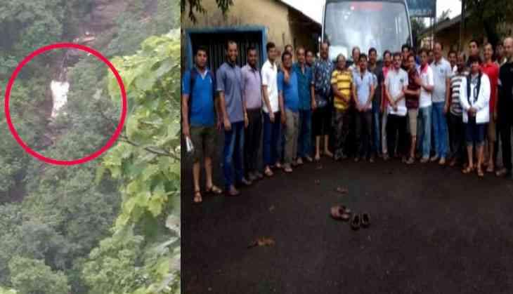 Maharashtra: Bus falls into 500-feet-deep valley, 30 dead