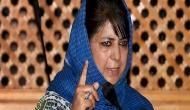 Mehbooba Mufti slams BJP MP for sexist remark on Priyanka Gandhi